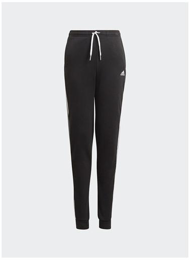 adidas Adidas Kız Çocuk Siyah-Beyaz Eşofman Altı Siyah